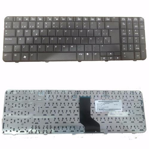 teclado hp compaq presario  cq60 black