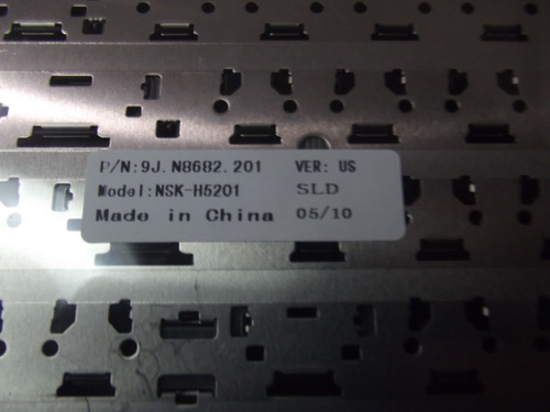 teclado hp dv 2000 preto