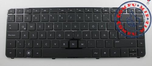 teclado hp dv4-3000 dv4-4000 dv4-4100 español con marco