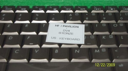 teclado hp dv4 bronce ingles disponible en medellin