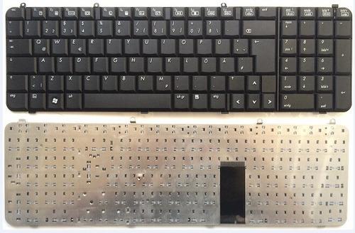 teclado hp dv9000 / dv9100 / dv9200 / dv9300 black