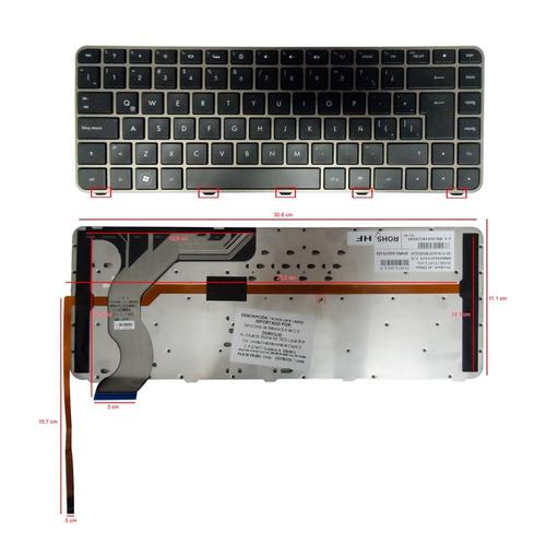 teclado hp envy 14 14-1000 14-1100 14-1200 negro español maa