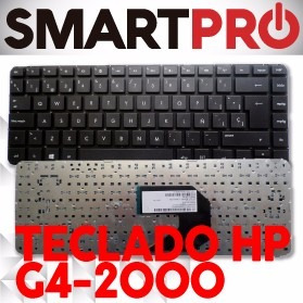 teclado hp g4-2000 g4-2205la español / ingles negro