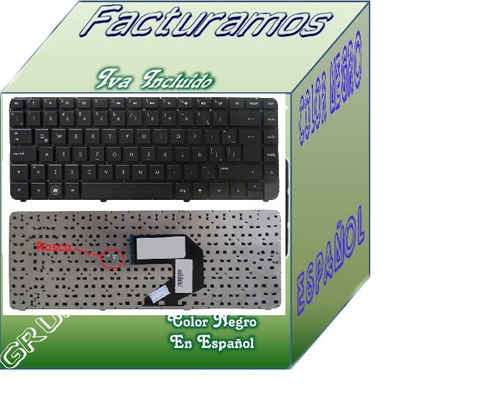 teclado hp g4 2000 g4 2264la negro en español lbf