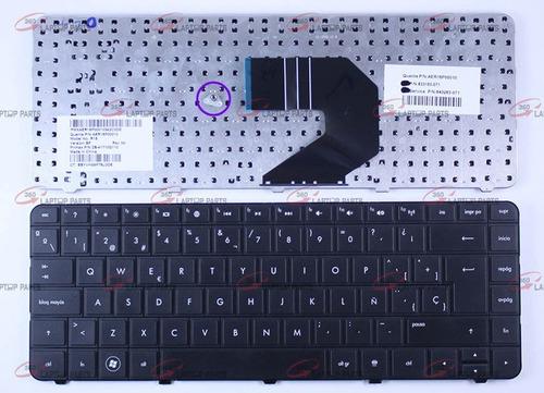 teclado hp g4 2000 serie 2000 con marco