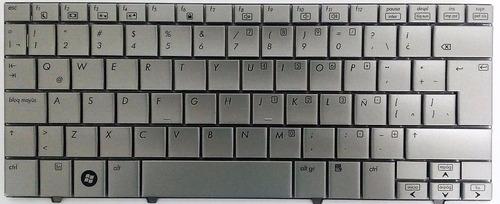 teclado hp mini 2133 2140 gris español