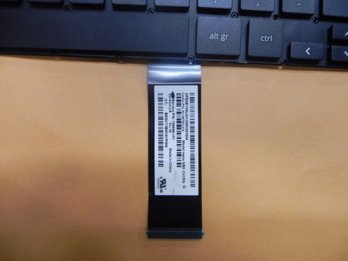 teclado hp pavilion chromebook 11 g3 negro sin marco