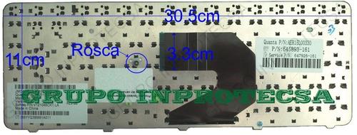 teclado hp pavilion cq45-910la 697529-161 negro español