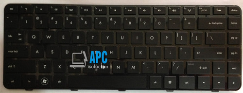 teclado hp pavilion dv5-2000, dm4-1000, neingilum