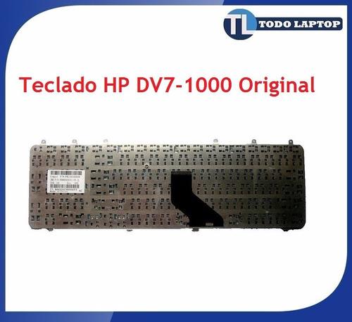teclado hp pavilion dv7