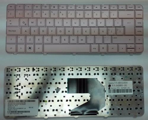 teclado hp pavilion g4 g6 cq43 g4-1000 español ingles rosado