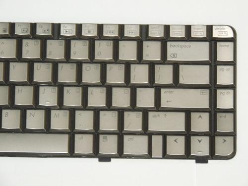 teclado hp pavillion dv4 dv4-1000 dv4-1100 bronce ingles