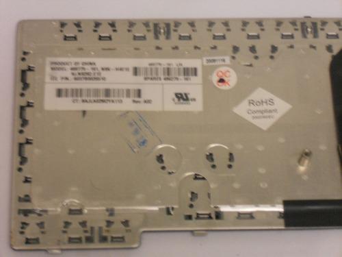 teclado hp,compaq p/n-468775-161  modelos 6530b,6535b