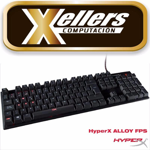 teclado hyperx alloy retroiluminado rojo azul marrón gamer