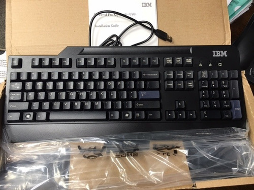 teclado ibm preferred pro keyboard 40k9584 104 teclas keys u