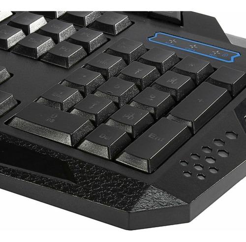 teclado iluminado multimídia action gamer anti-ghosting