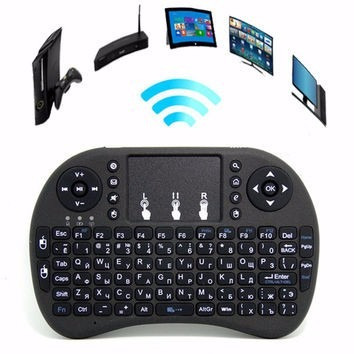 teclado inalámbrico air mouse pc, android, smart tv pad