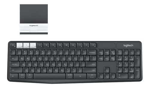 teclado inalámbrico bluetooth logitech k375s unifying k375