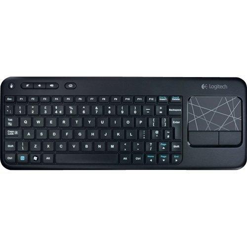 teclado inalambrico con touchpad integrado logitech k400