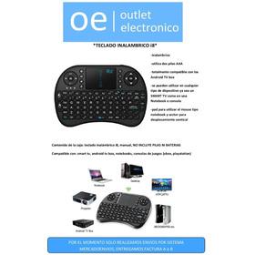 Teclado Inalambrico I8 - Android Tv Box, Smart Tv, Consolas