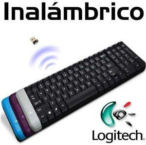 teclado inalámbrico logitech k230 en español hasta 10 metros