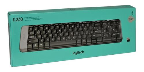 teclado inalambrico logitech k230 usb unifying original