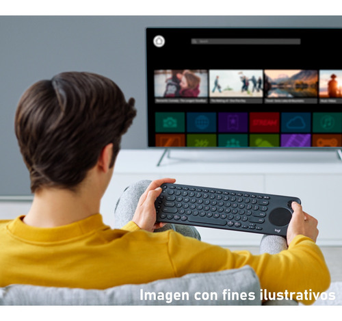 teclado inalambrico logitech k600 bluetooth pc tv tablet