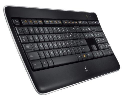 teclado inalámbrico logitech teclado