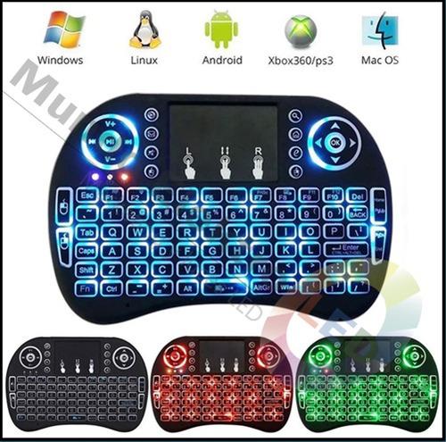 teclado inalambrico luminoso led
