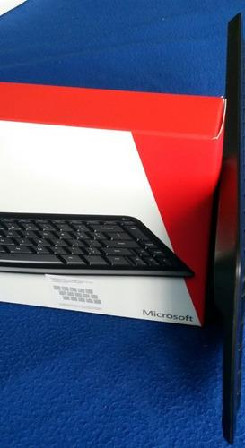 teclado inálambrico microsoft ultradelgado sculpt mobile