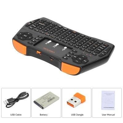 teclado inalambrico qwerty smart tv