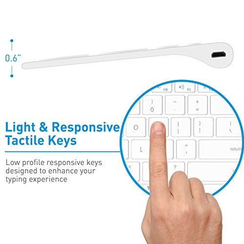 teclado inalámbrico tecla