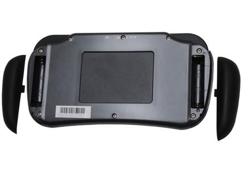 teclado inalámbrico touchpad smart tv nisuta -polotecno