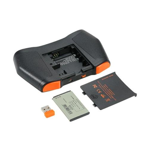 teclado inalámbrico tv box, pc ,  mouse pad con luz
