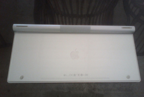 teclado inalambrico via bluetooh apple.