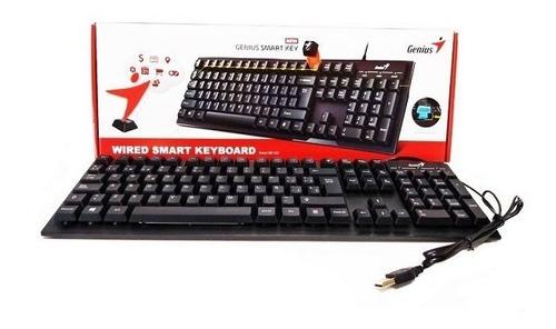 teclado inteligente genius smart kb 102 negro usb español