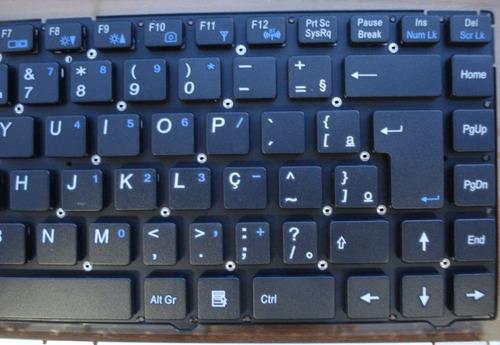 teclado itautec a7520 w7545 a7535 mp-10f88pa-430 br com ç