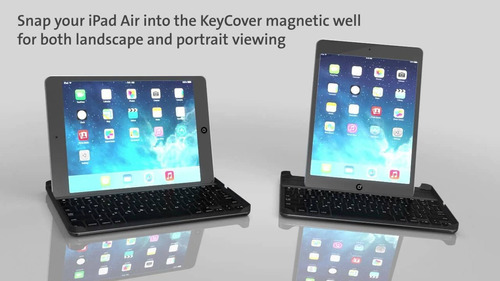 teclado keycover hardshell para ipad air kensington k97007es