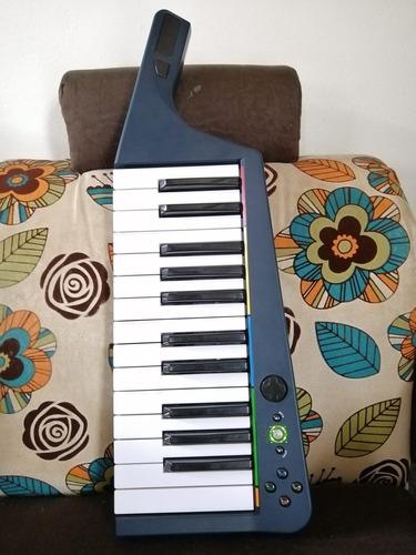 teclado keytar controlador midi x-box 360 rockband 3