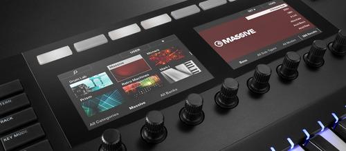 teclado komplete kontrol s49  mk2 native instruments