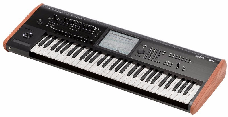 teclado korg kronos 2 61 distribuidor autorizado r 17. Black Bedroom Furniture Sets. Home Design Ideas