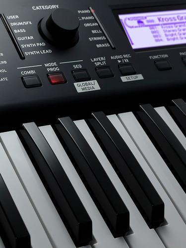 teclado korg teclas
