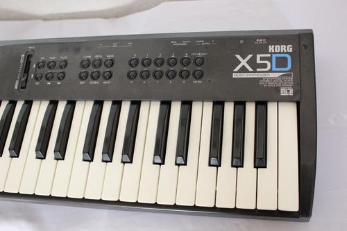 teclado korg x5d