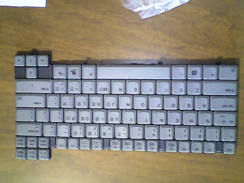 teclado laptop campaq e500, 354199-001, usado sin garantia