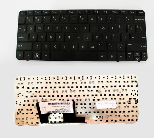 teclado laptop hp mini 110-3000 mini 210-2000 original black
