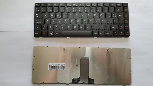 teclado laptop lenovo g470 g475 b470 v470 nuevo sp