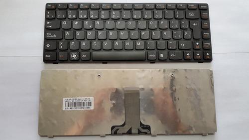 teclado laptop lenovo g480 g485 nuevo en español oferta