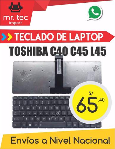 teclado laptop toshiba  c40 c45 l45