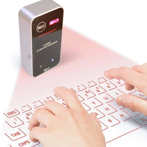 teclado láser. teclado proyectado
