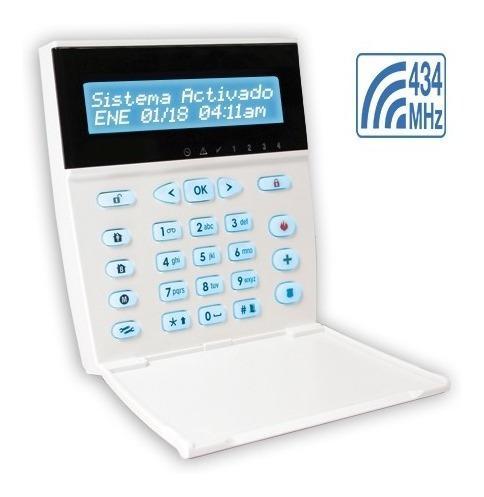 teclado lcd alfanumerico rf - kpd 860-rf